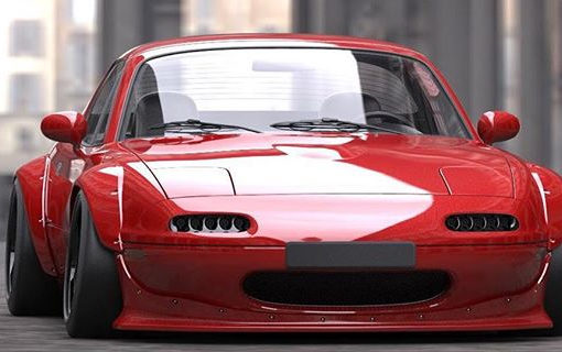 wide body pandem rocket bunny mazda mx 5 na street. Black Bedroom Furniture Sets. Home Design Ideas