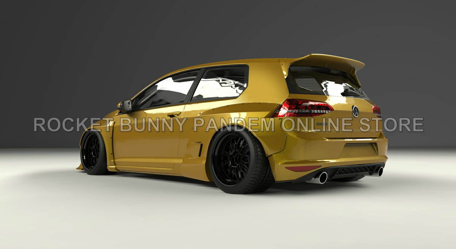 wide body pandem rocket bunny vw golf 7 gti street. Black Bedroom Furniture Sets. Home Design Ideas