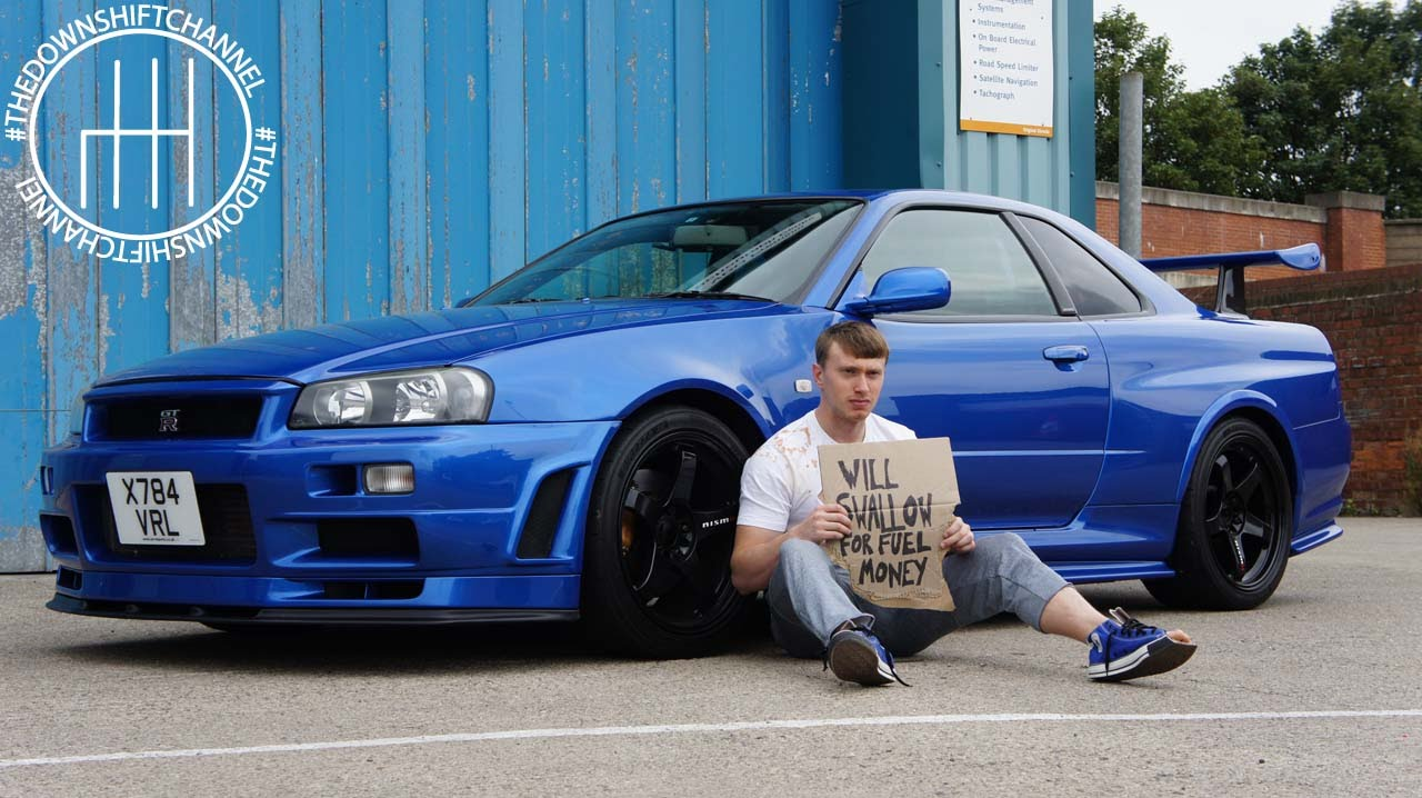 A day in the life of liam after owning the r34 gtr for for Wallpaper sale uk