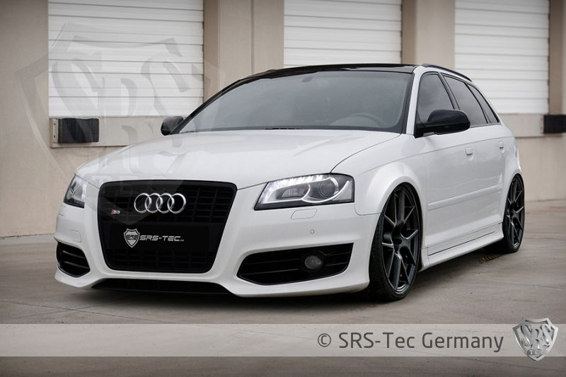 wide fenders gt for audi a3 sportback 8pa facelift. Black Bedroom Furniture Sets. Home Design Ideas