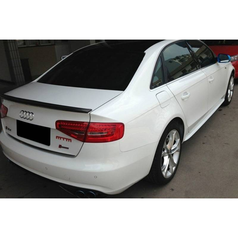 carbon spoiler wing audi a4 b8 09 12 street performance. Black Bedroom Furniture Sets. Home Design Ideas
